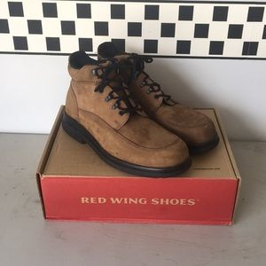 Red Wines Shoes Boots 13D Chukka NIB NWT 8662